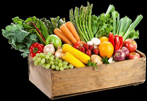 Organic Set Box Medium Assorted Fruit Amp Veg Farm