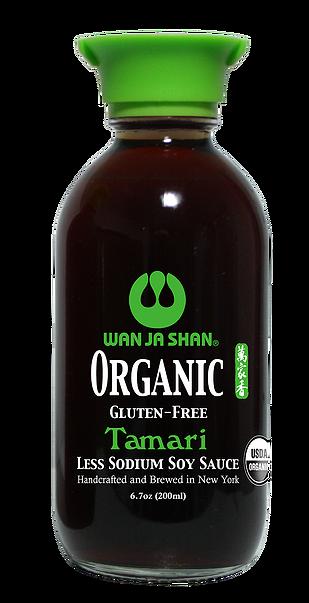 Organic Condiments Tamari Low Sodium W Dispenser Wan