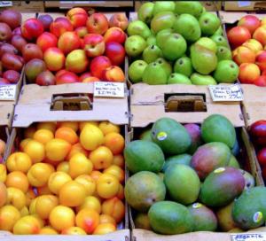 Bulk fresh produce